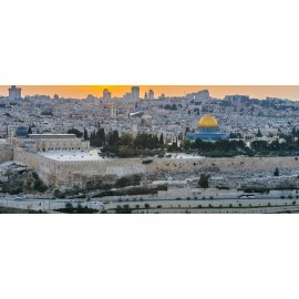 JERUSALEM entre mers et déserts